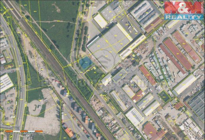 mapa (Prodej, provozní plocha, 864 m2, Praha 10), foto 1/4