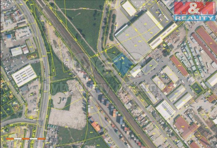 mapa (Prodej, provozní plocha, 1685 m2, Praha 10), foto 1/4