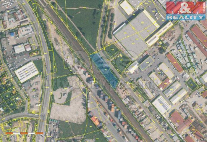 mapa (Prodej, provozní plocha, 2518 m2, Praha 10), foto 1/3