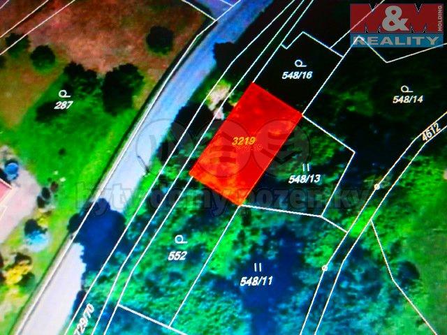 Prodej, stavební parcela, 694 m2, Vendolí