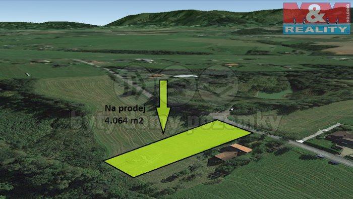 vizualizace1 (Prodej, pozemek, 4064 m2, Horní Domaslavice), foto 1/4