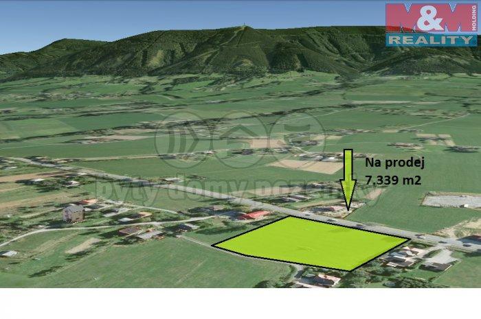 vizualizace 7339 (Prodej, pozemek, 7339 m2, Třinec - Nebory), foto 1/3