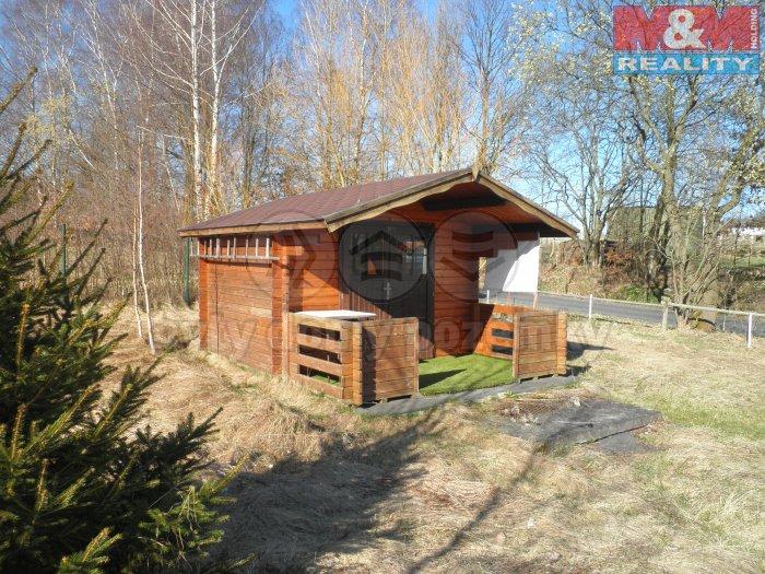 Pohled na chatku (Prodej, trvalý travní porost, 1074 m2, Liberec), foto 1/7