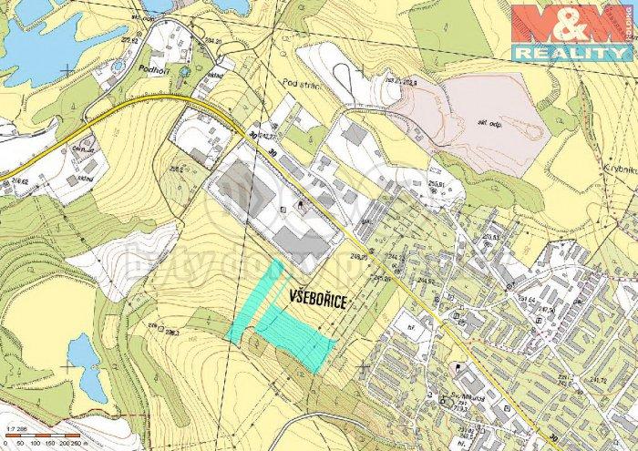 mapa (Prodej, pozemek, 35807 m2, Ústí nad Labem), foto 1/3
