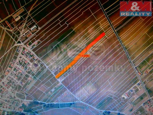 Prodej, stavební parcela, 6584 m2, Tuhaň