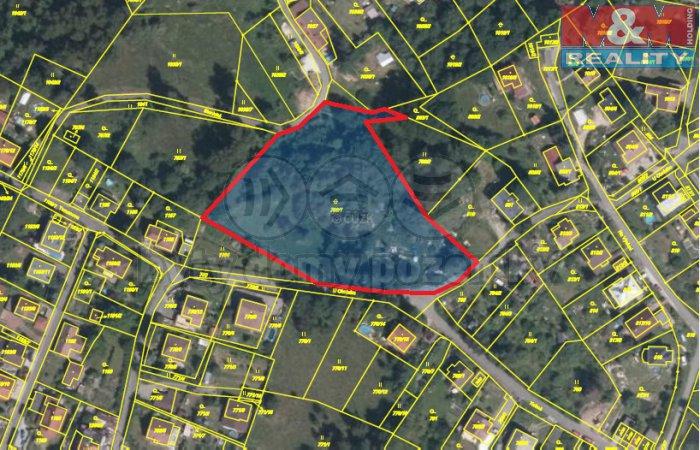 Mapa Ruprechtice (Prodej, stavební parcela, 6725 m2, Liberec, Ruprechtice), foto 1/14