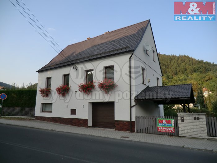 Pohled na dům  (Prodej, rodinný dům, 123 m2, Perštejn, ul. Hlavní), foto 1/48