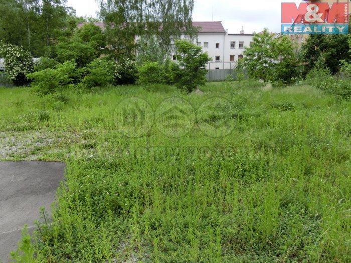 Pohled na pozemek (Prodej, stavební pozemek, 1224 m2, Ústí nad Labem - centrum), foto 1/6