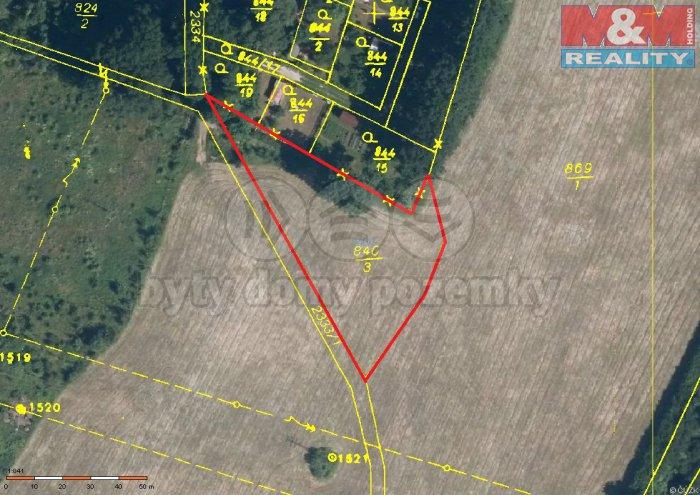 d807daea-c6ad-48c5-a15c-be35cfdaaa6e (Prodej, stavební pozemek, 3140 m2, Cheb, Chlumeček), foto 1/9