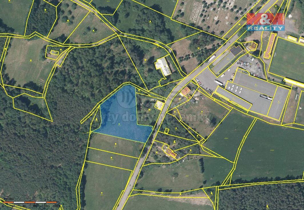 Prodej, pozemek, 7150 m2, Cvikov