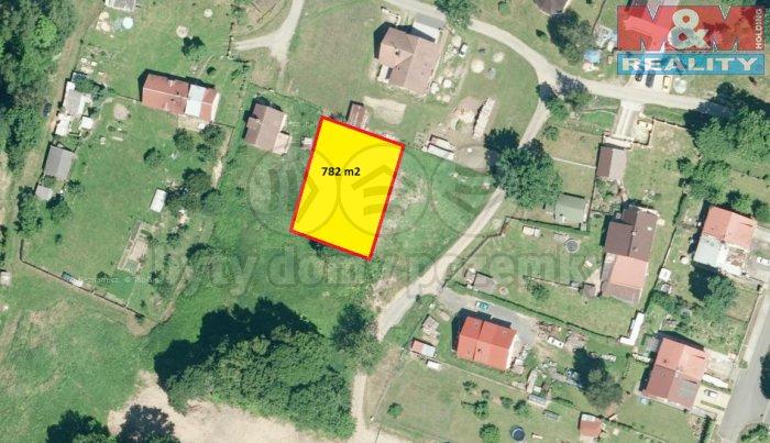 Prodej, stavební pozemek, 782 m2, Stará Voda u Mar. Lázní