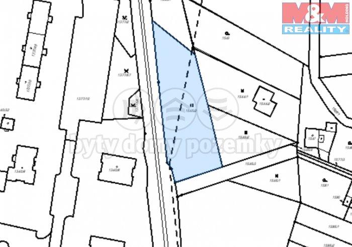 Mapa1 (Prodej, pozemek 2647 m2, Kopřivnice), foto 1/4