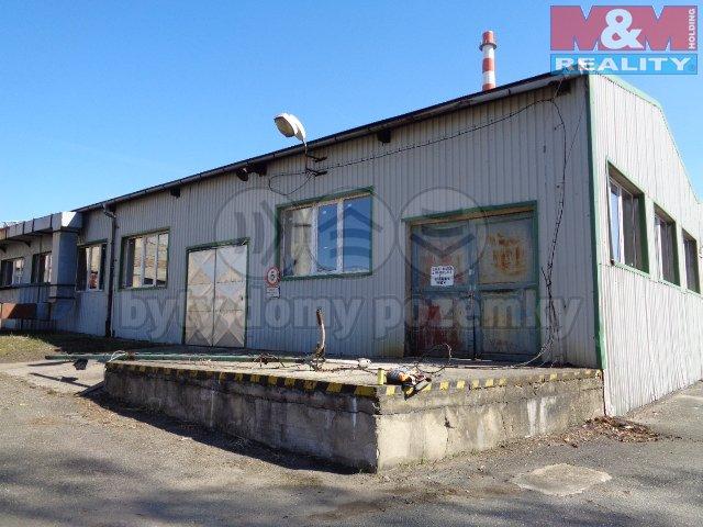 Objekt s rampou  (Pronájem, výrobní objekt, 2200 m2, Kolín, ul. Zengrova), foto 1/22