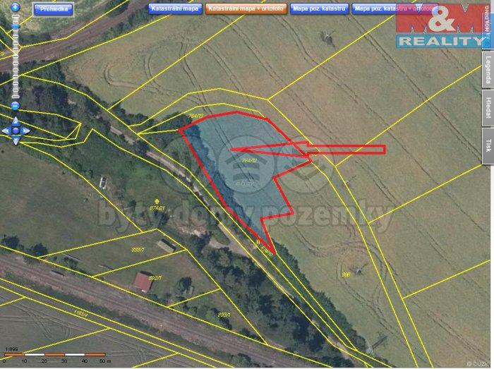 Batela-Podlůešín-foto1 (Prodej, zemědělský pozemek, 2111 m2, Podlešín), foto 1/3