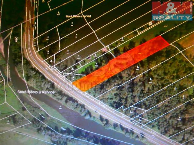 Prodej, les, 7006 m2, Staré Město u Karviné