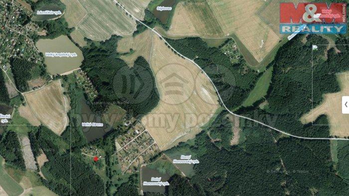 mapa (Prodej, pozemek, 1299 m2, Žďár nad Sázavou, Grejdy), foto 1/5