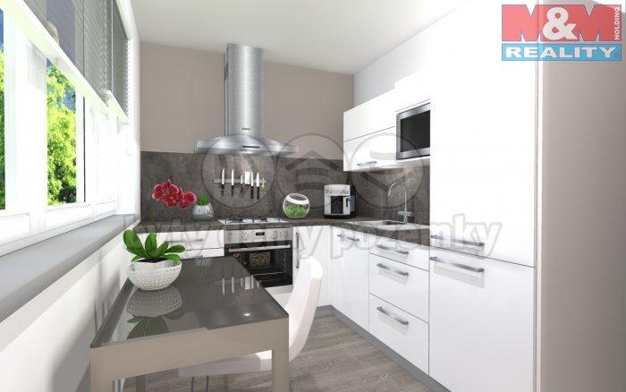 540802_kuchyně2 (Prodej, byt 2+1, 60 m2, Moravská Ostrava, ul. Varenská), foto 1/7