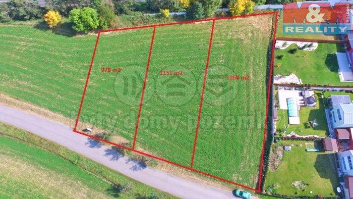 Prodej, stavební pozemek, 3393 m2, Říčany