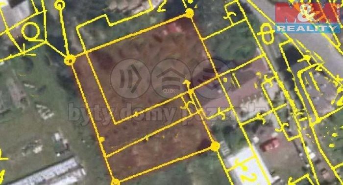 mapa (Prodej, stavební pozemek 829 m2, Cvikov), foto 1/4