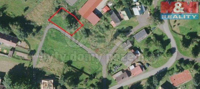 Prodej, stavební pozemek, 960 m2, Mariánské Lázně - Zádub