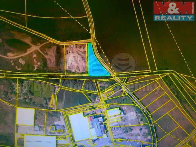Prodej, stavební parcela, 3869m2, Úžice u Kralup nad Vltavou