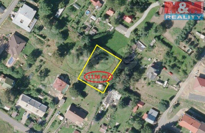 Prodej, stavební pozemek, 1136 m2, Valy u Mariánských Lázní