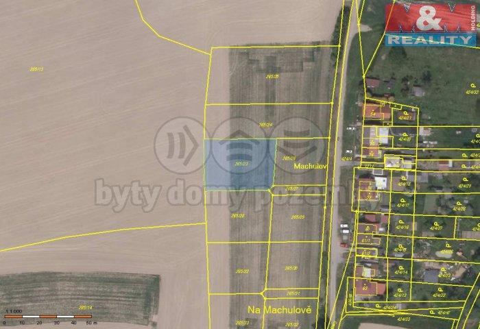 Prodej, pozemek, 1207 m2, Bartoušov