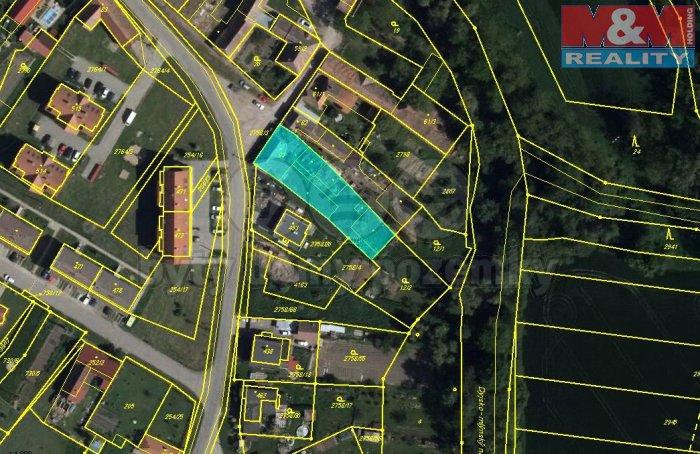 Prodej, stavební parcela, 510 m2, Strachotice-Micmanice