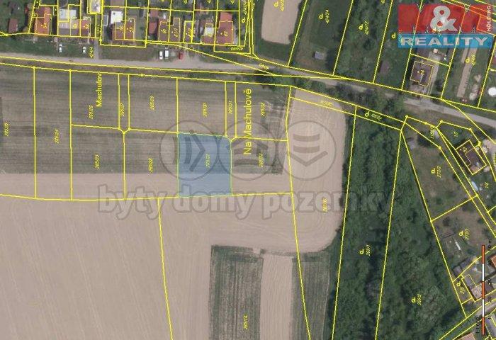 Prodej, pozemek, 1012 m2, Bartoušov