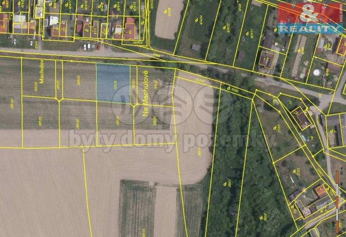 Prodej, pozemek, 832 m2, Bartoušov