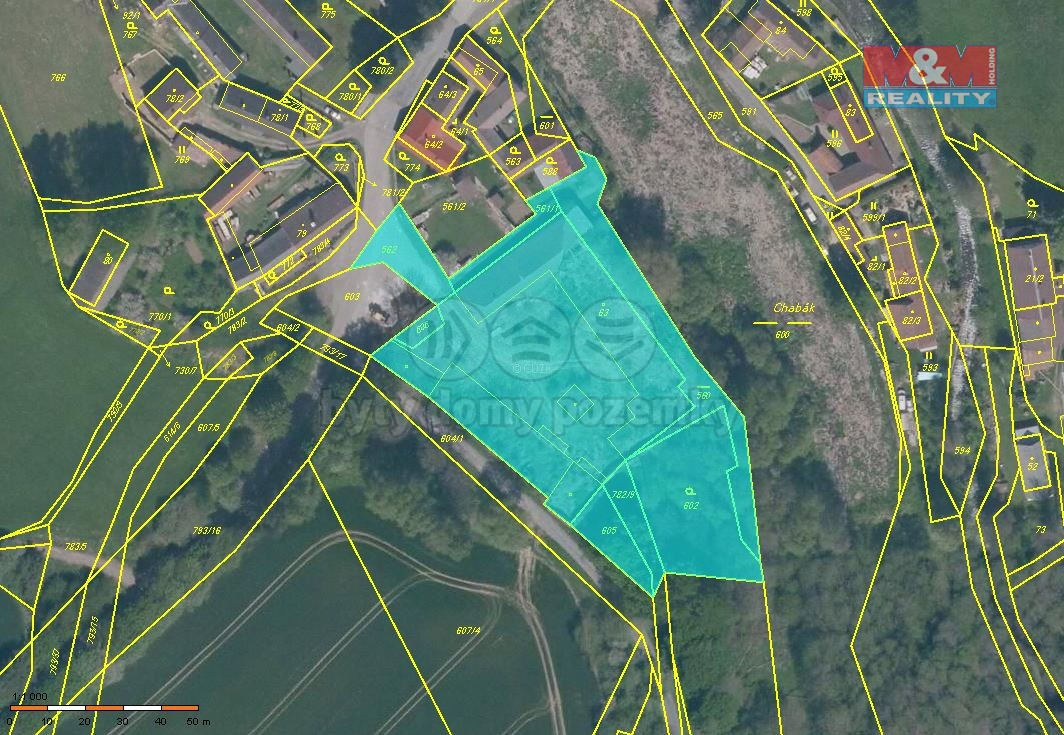 Prodej, pozemek, 6275 m2, Kletečná