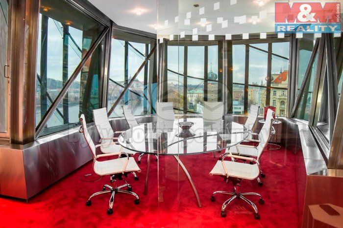 Pronájem, kancelářské prostory, 30 m2, Praha - Tančící dům