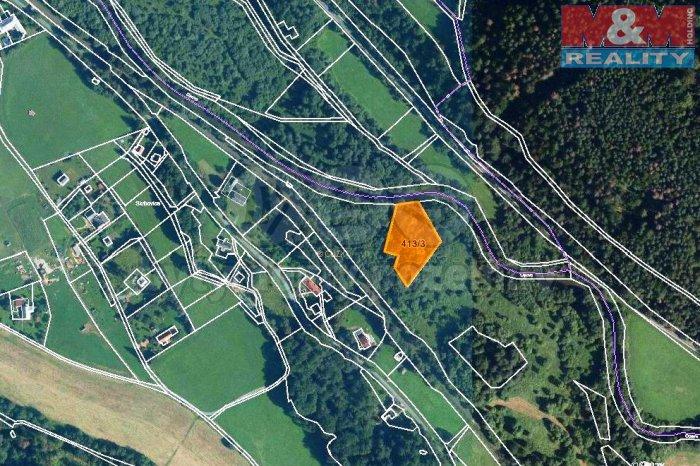 Prodej, les, 3221 m2, Široká Niva-Skrbovice