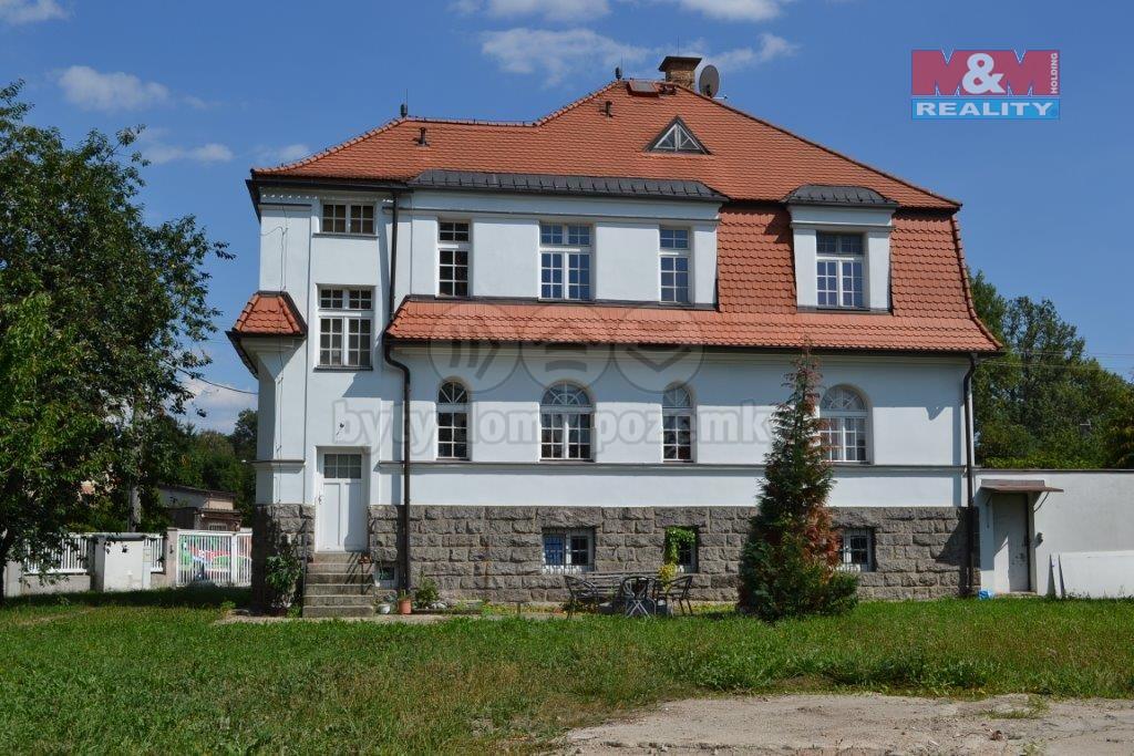pohled na dům ze zahrady (Prodej, rodinný dům, Rychnov u Jablonce nad Nisou, Malířská), foto 1/20