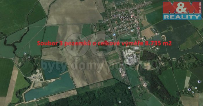 Grygov (Prodej, pole, 8375 m2, Grygov), foto 1/3