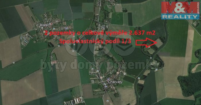 Blatec (Prodej, louka, 879 m2, Blatec), foto 1/3