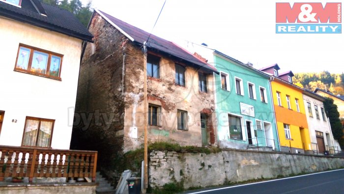 Prodej, rodinný dům, 6+1, 162 m2, Jáchymov, tř. Čs. armády