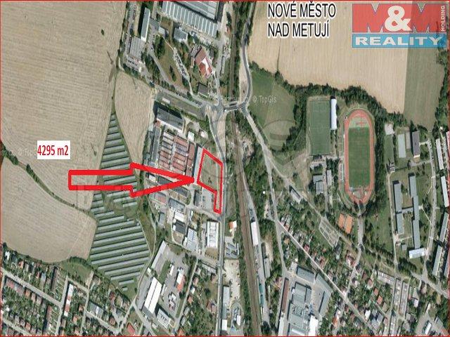 Prodej, pozemek, 4295 m2, Nové Město nad Metují