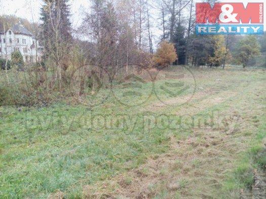 pohled na pozemek (Prodej, zahrada, 1851 m2, Liberec, Prosečská), foto 1/4