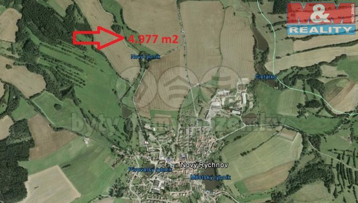Rychnov (Prodej, louka, 4977 m2, Nový Rychnov), foto 1/3