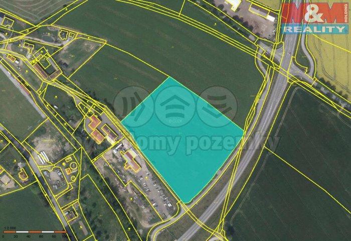 Prodej, pozemek, 20485 m2, Česká Bělá