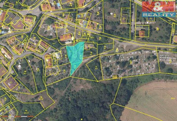 Prodej, stavební pozemek, 829 m2, Chvatěruby