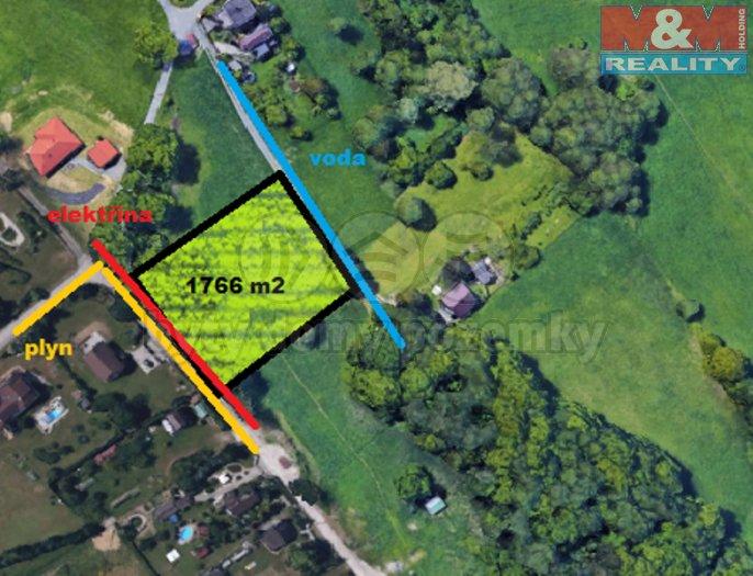 Prodej, pozemek, 1766 m2, Rychvald, ul. Landek