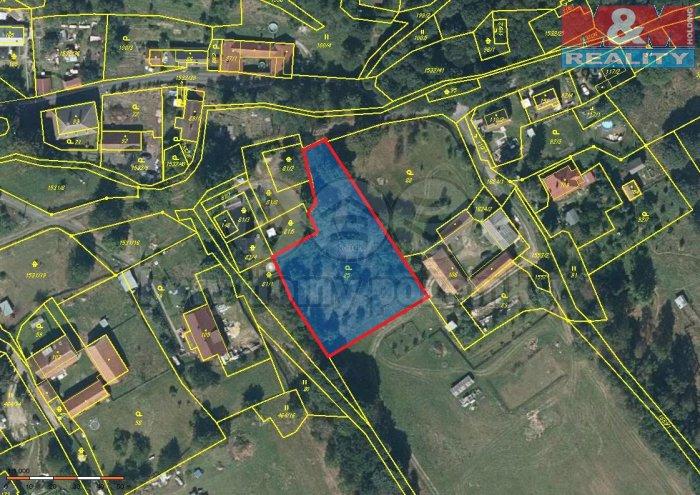 Prodej, stavební pozemek, 2483 m2, Dolní Žandov, Úbočí
