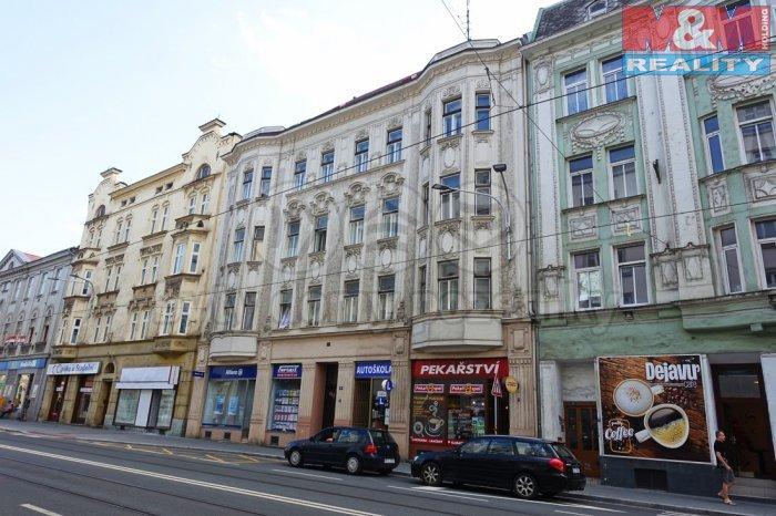 Pronájem, byt 1+1, Ostrava, ul. Nádražní