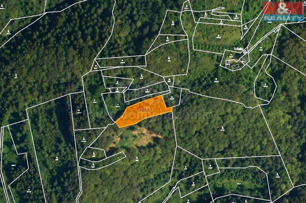 Prodej, les, 3244 m2, Halenkov
