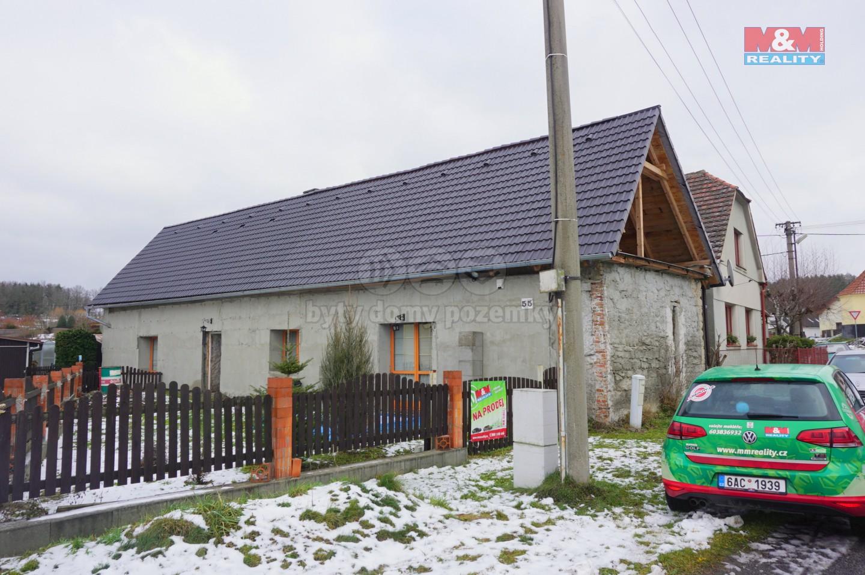 Prodej, rodinný dům, 100 m2, Slatina u Horažďovic