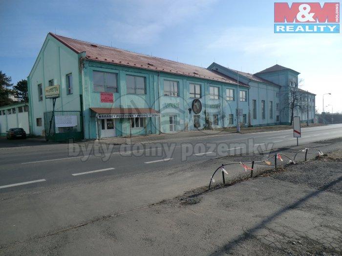Pronájem, obchodní objekt, 420 m2, Chomutov, ul. Lipská