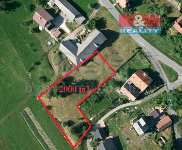 Prodej, pozemek, 2000 m2, Čistá