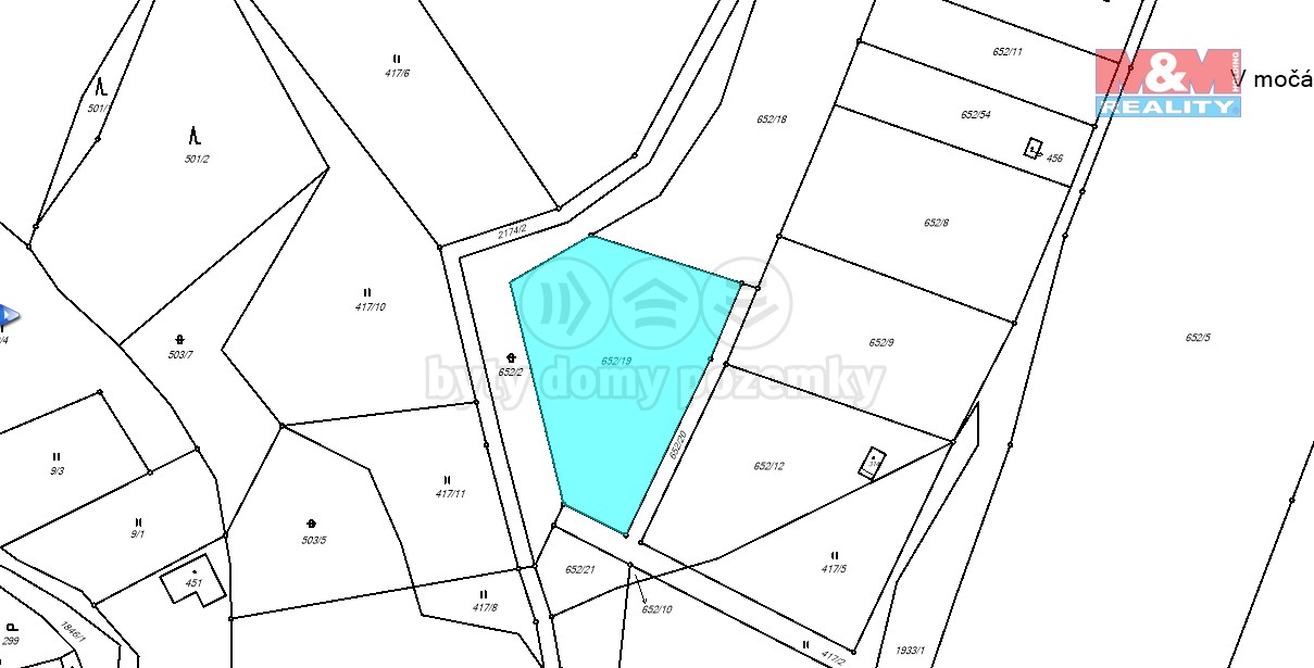 Prodej, pozemek, 2446 m2, Horní Libchava